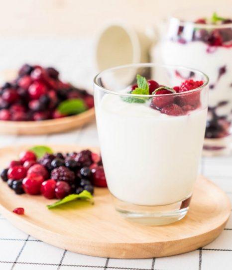 Yoghurt parfait kindertraktatie